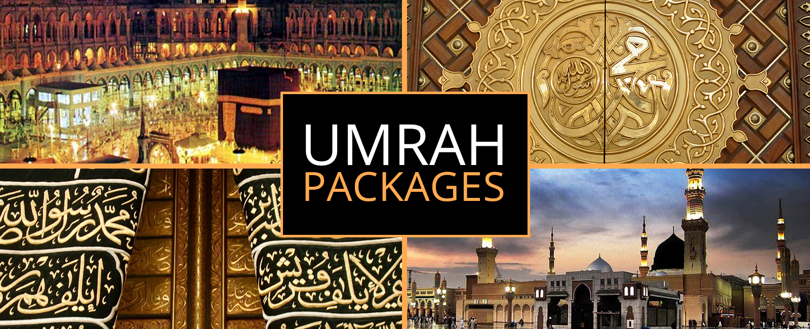 Umrah Banner: Travel With Us